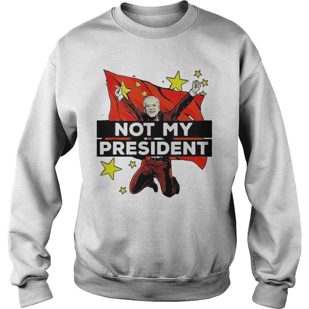 China Joe Biden Is Not My President Sweater