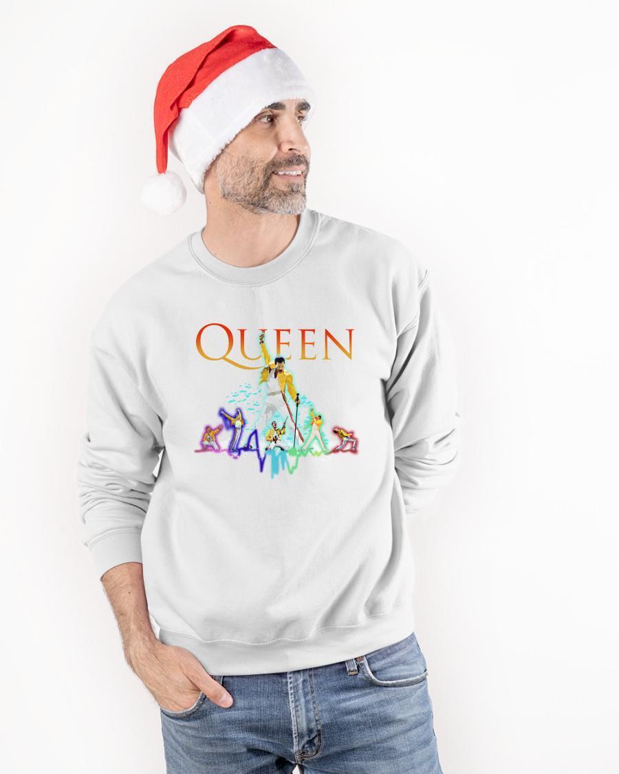 Color Queen Freddie Mercury Longsleeve
