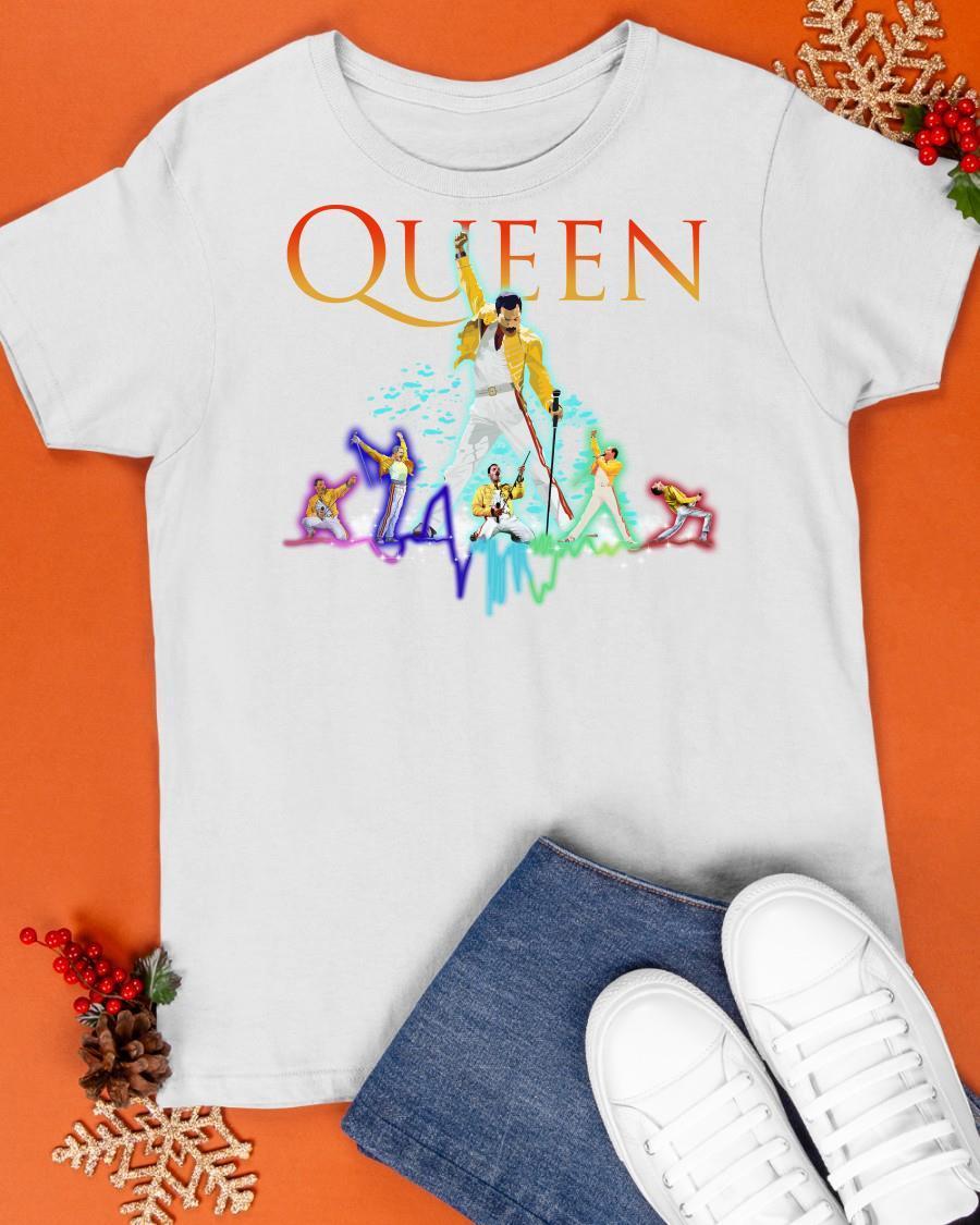 Color Queen Freddie Mercury Shirt