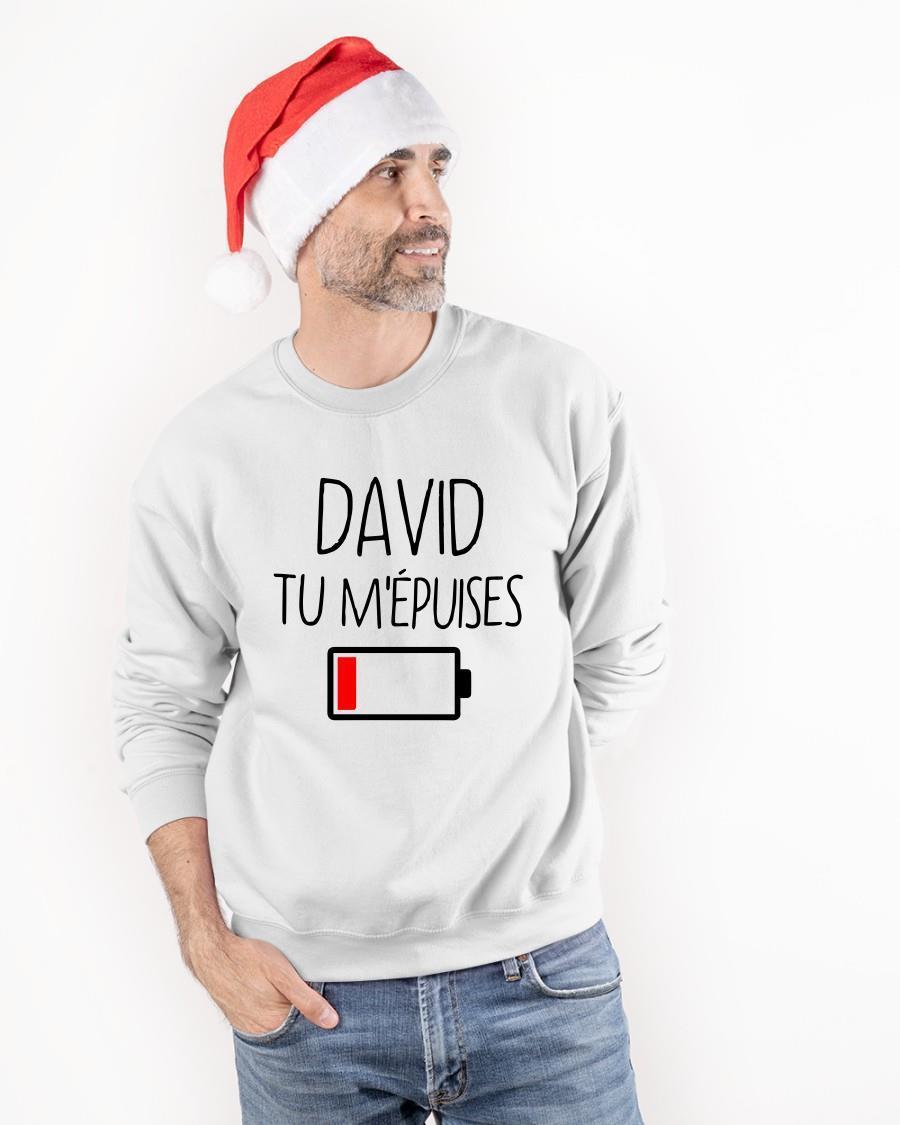 David Tu M'épuises Sweater