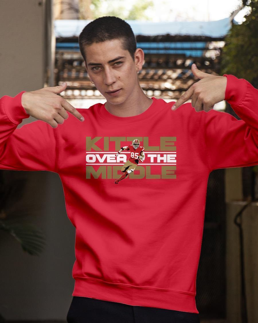 George Kittle Over The Middle Longsleeve