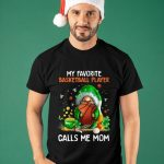 Gnomes My Favorite Basketball Player Calls Me Mom Shirt