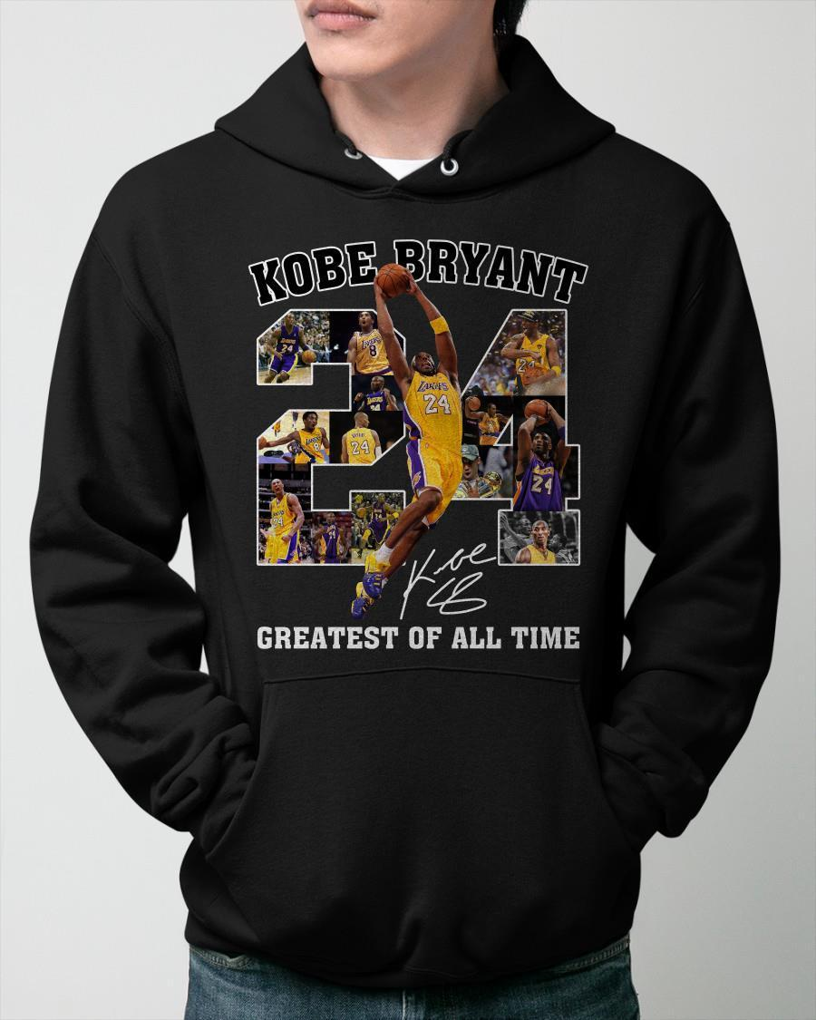 Greatest Of All Time Kobe Bryant Signature Hoodie