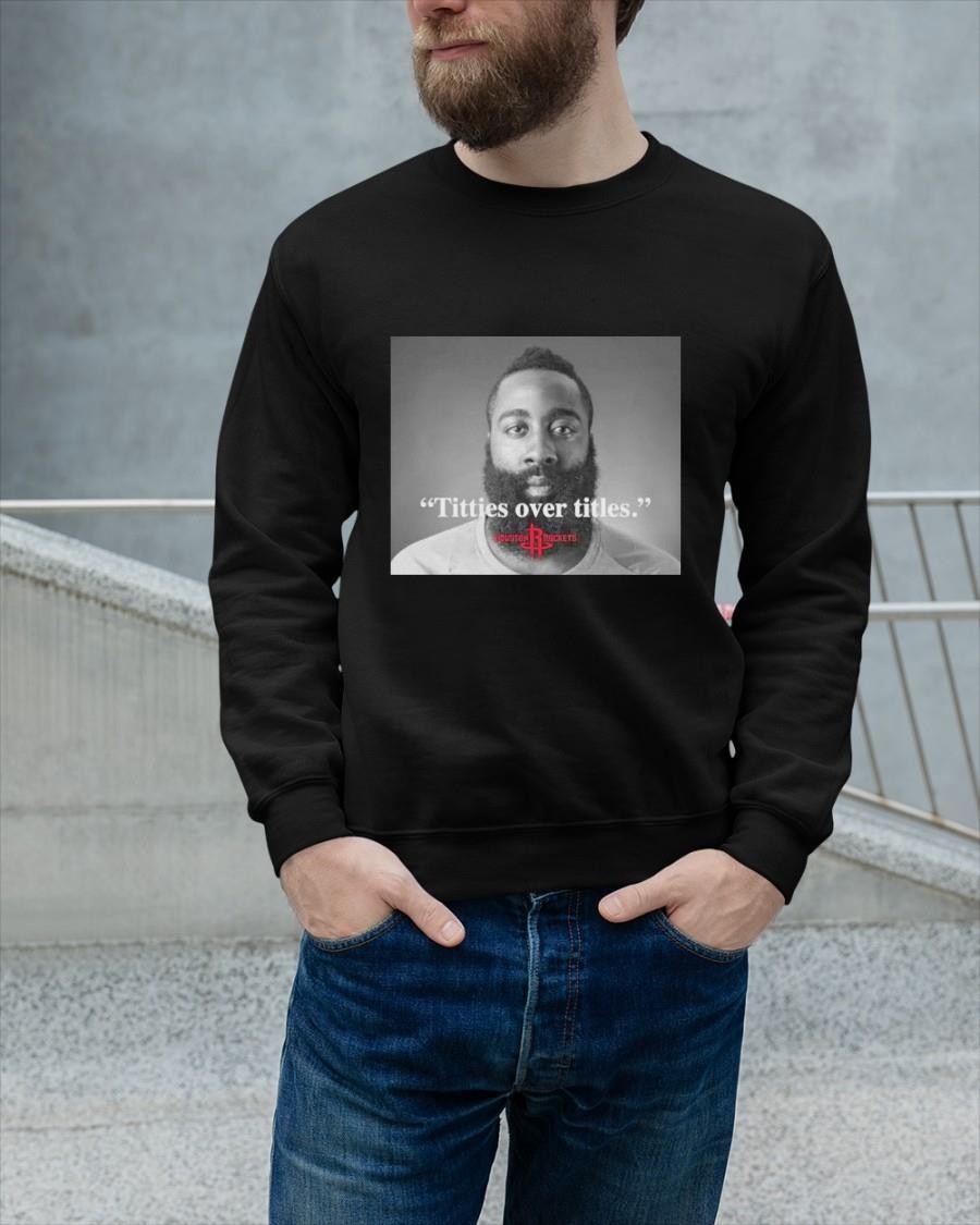 James Harden Titties Over Titles Sweater