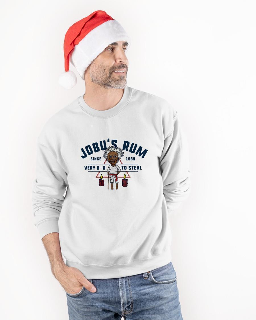 Jobu's Rum Since 1989 Very Bad To Steal Sweater
