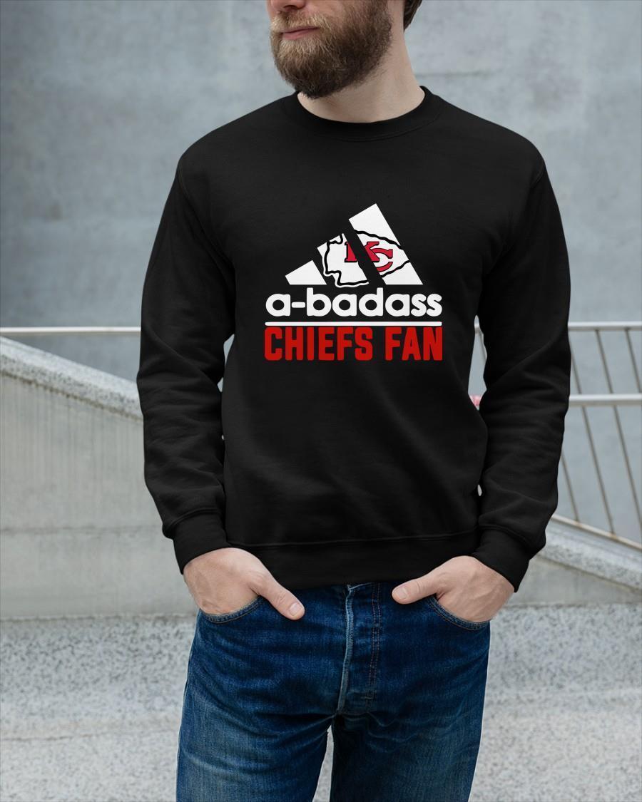 Kansas City Chiefs A Badass Chiefs Fan Sweater