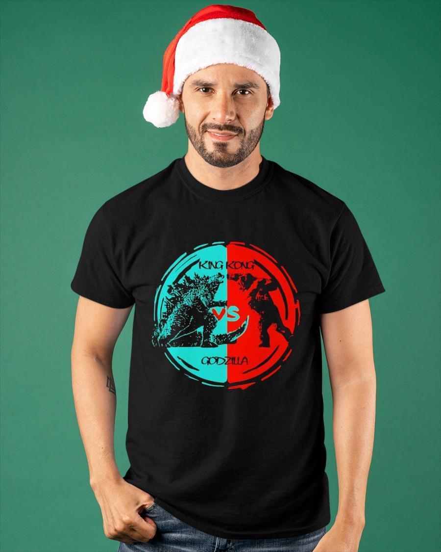 King Kong And Godzilla Fight 2021 Shirt