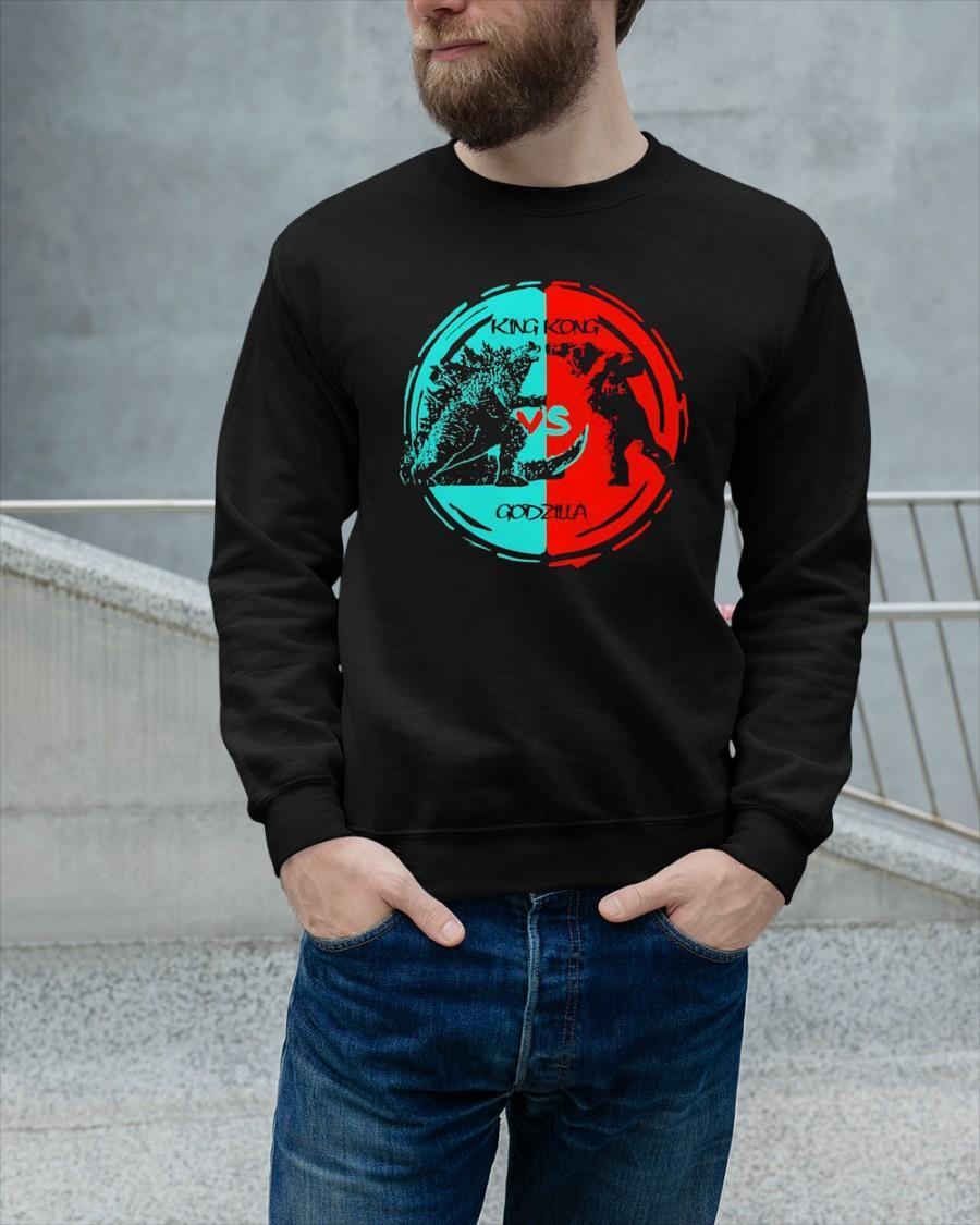 King Kong And Godzilla Fight 2021 Sweater