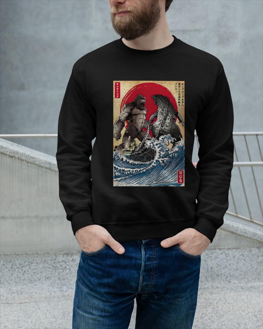 King Kong And Godzilla Sweater