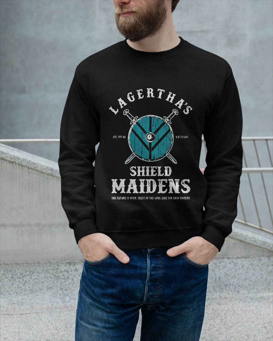 Lagertha's Shield Maidens The Future Is Open Longsleeve