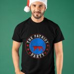 Lion America Pro Trump The Patriot Party Shirt