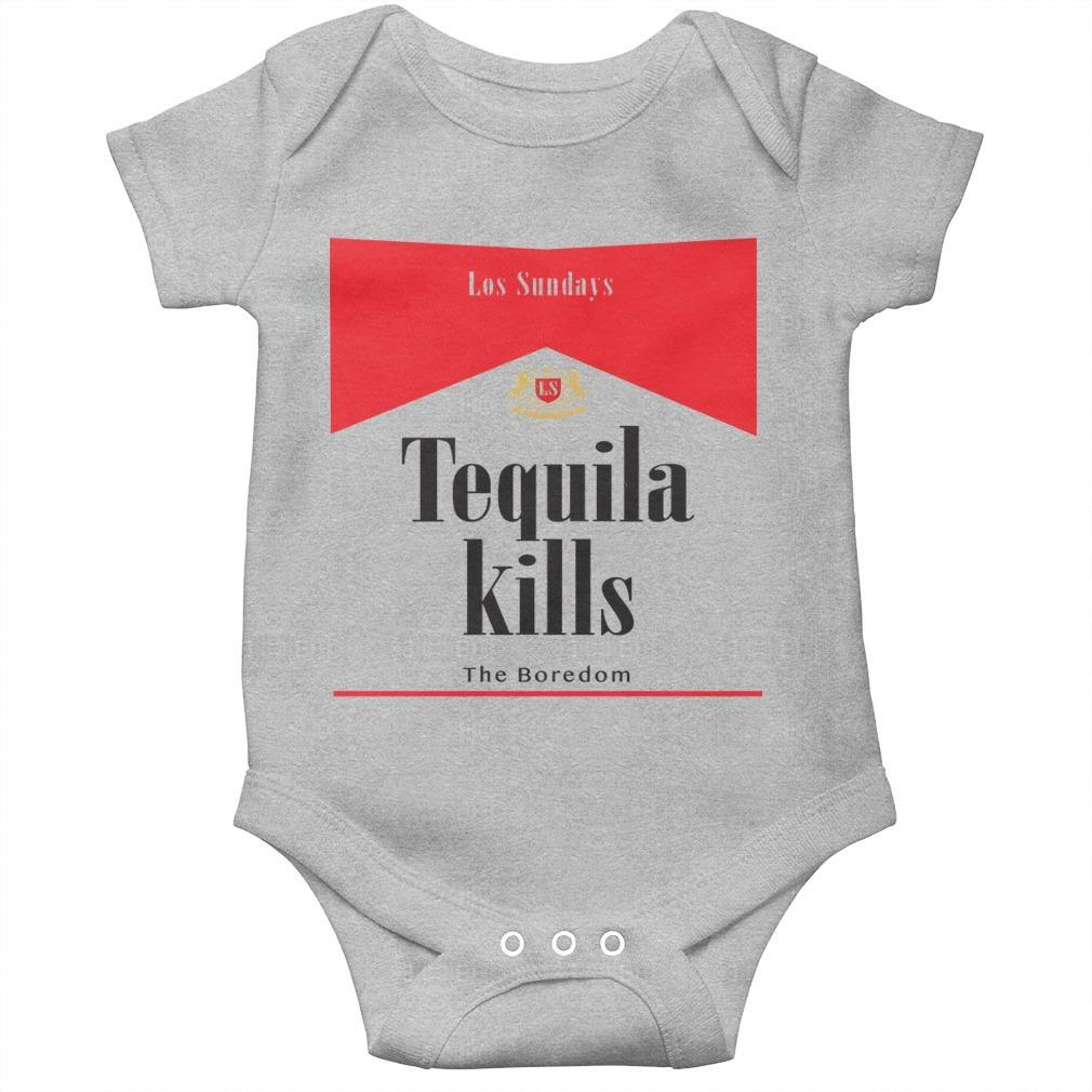 Los Sundays Tequila Kills The Boredom Longsleeve