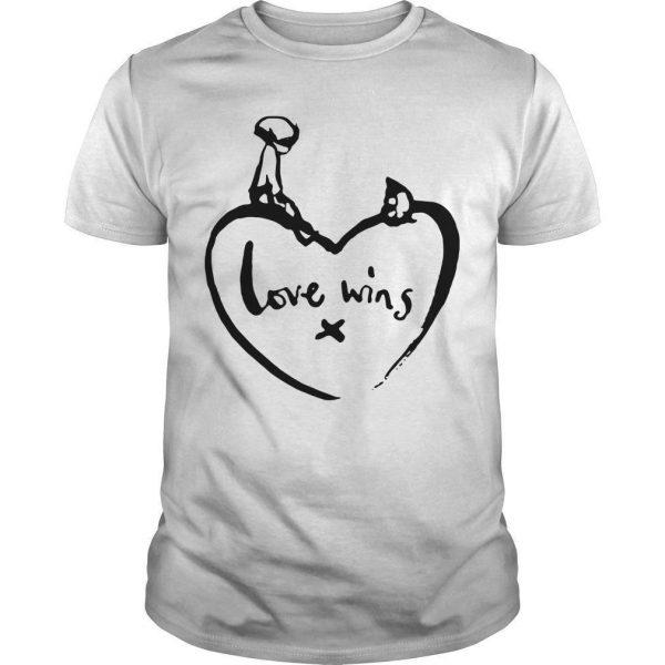 Love Wins T Shirt Comic Relief