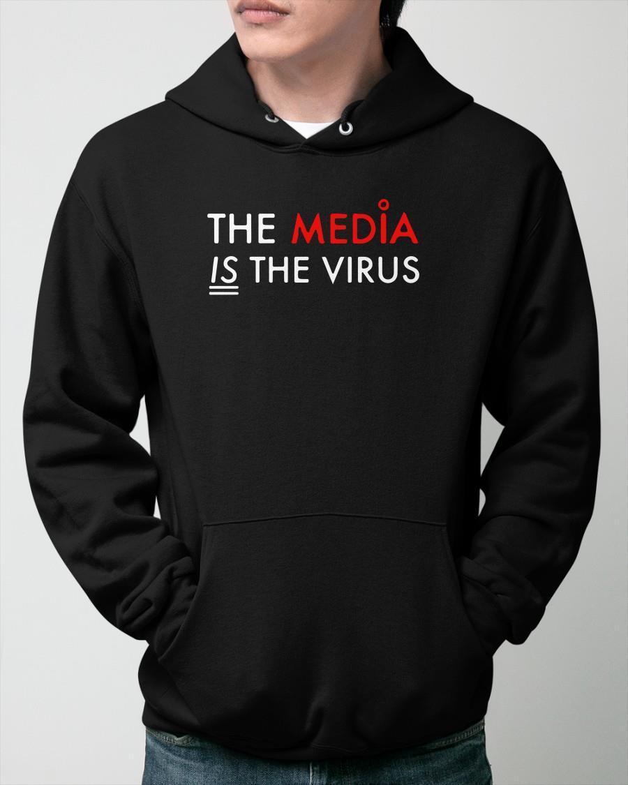 Luke Rudkowski The Media Is The Virus Hoodie