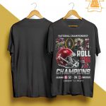 National Championship 2021 Roll Tide A Champions Shirt