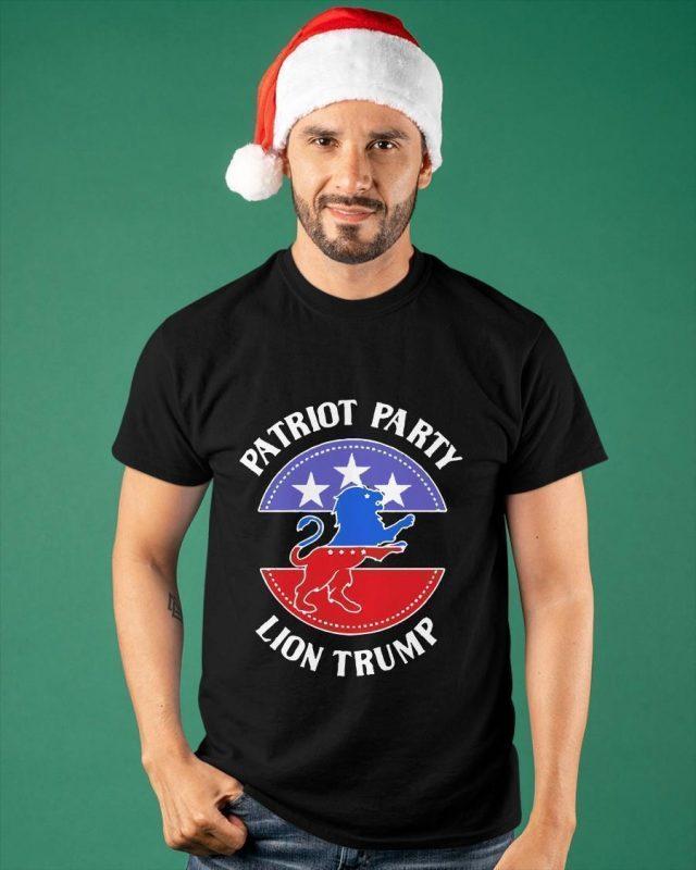 Patriot Party Lion Trump Shirt
