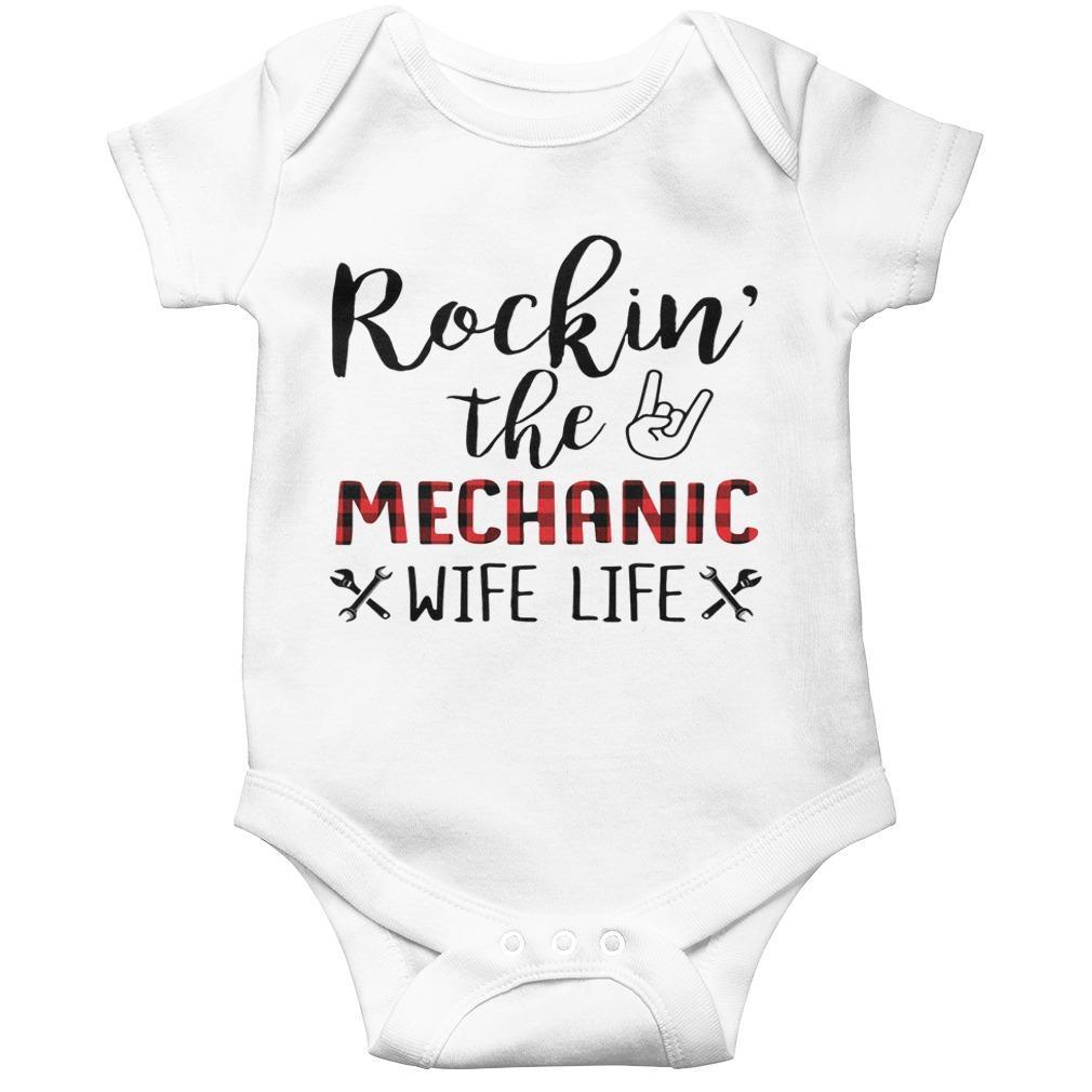 Rockin' The Mechanic Wife Life Longsleeve