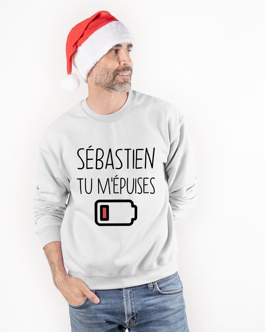 Sébastien Tu M'épuises Tank Top