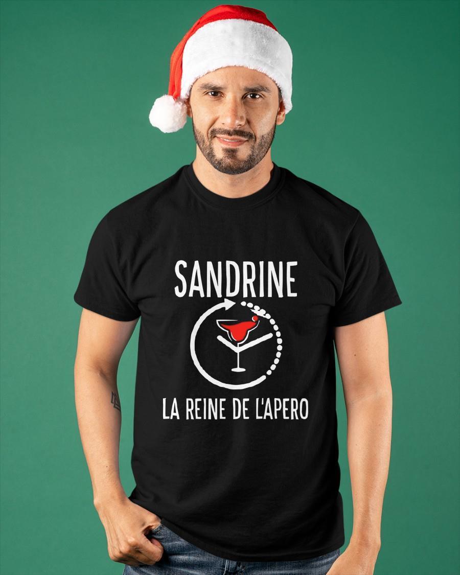 Sandrine La Reine De L'apero Shirt