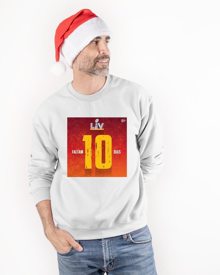Super Bowl Lv Faltam 10 Dias Sweater