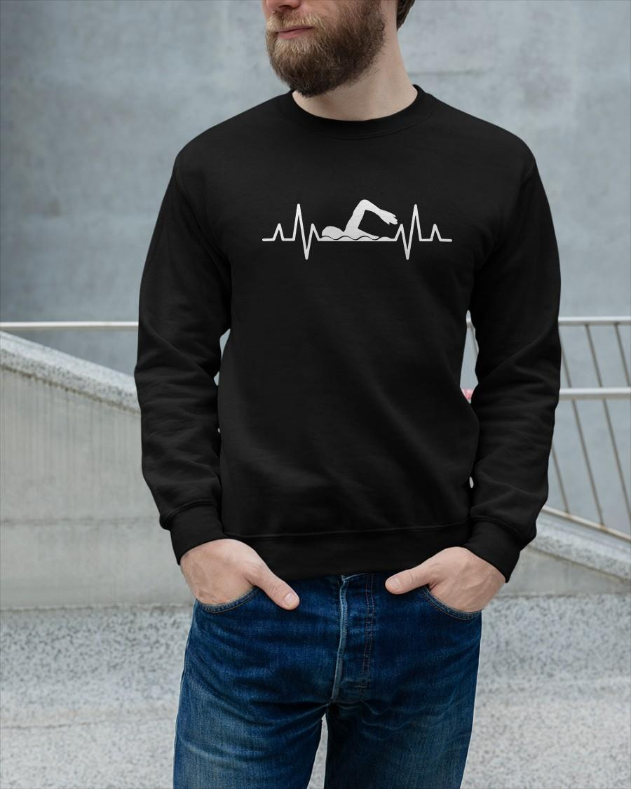 Swimming Heartbeat Longsleeve