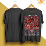 Tampa Bay Buccaneers 45th Anniversary Thank You For The Memories Shirt