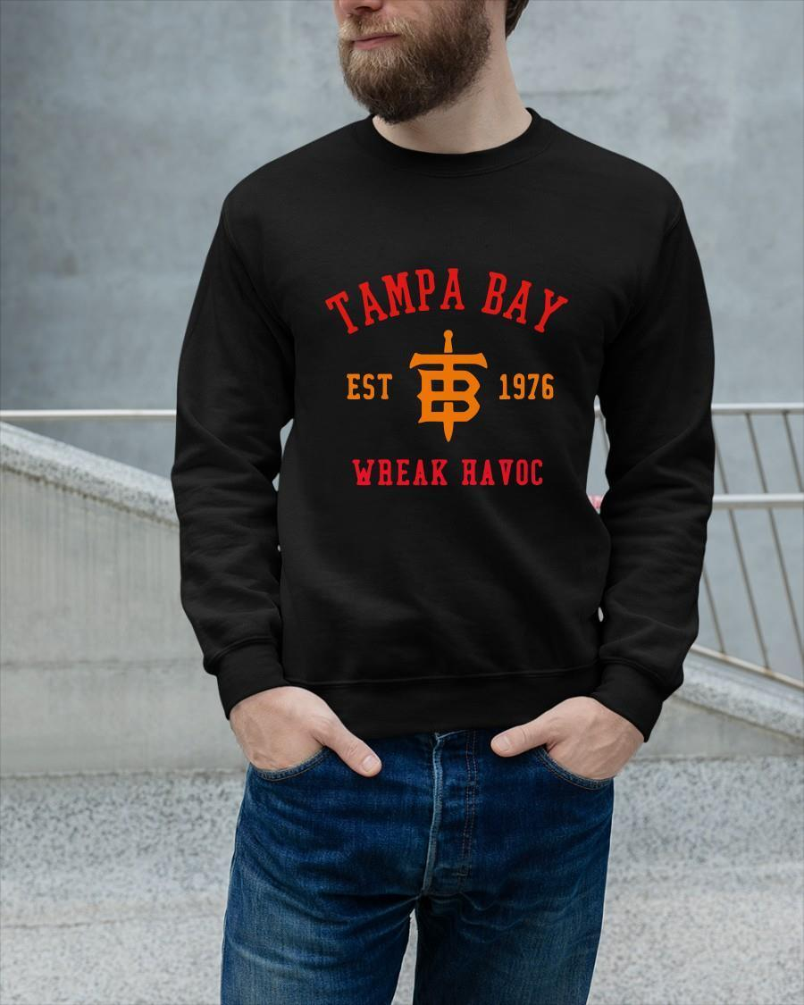 Tampa Bay Est 1976 Wreak Havoc Longsleeve