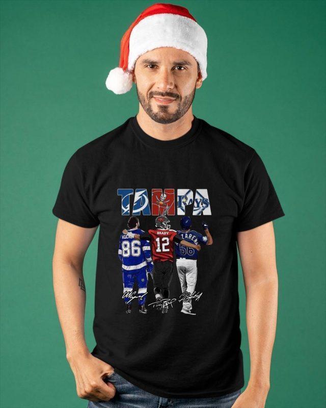 Tampa Bay Lightning Tampa Bay Rays Nikita Kucherov Tom Brady Randy Arozarena Shirt
