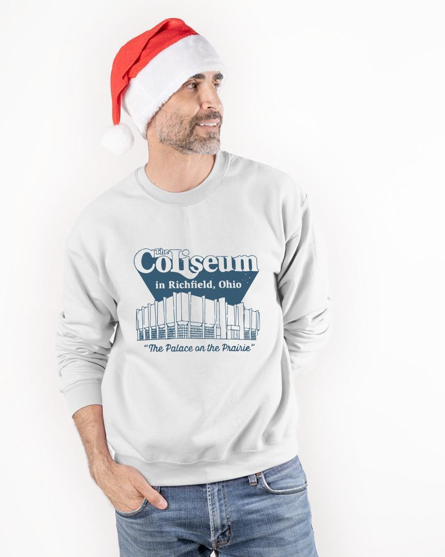 The Coliseum In Richfield Ohio The Palace On The Prairie Longsleeve