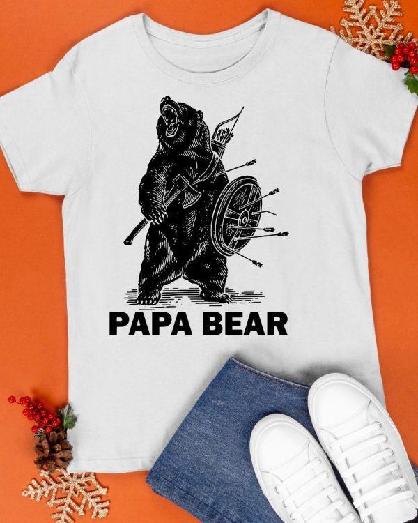 Viking Papa Bear Shirt
