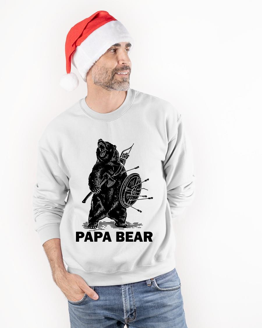 Viking Papa Bear Tank Top
