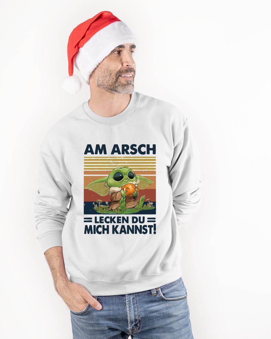 Vintage Baby Yoda Am Arsch Lecken Du Mich Kannst Tank Top