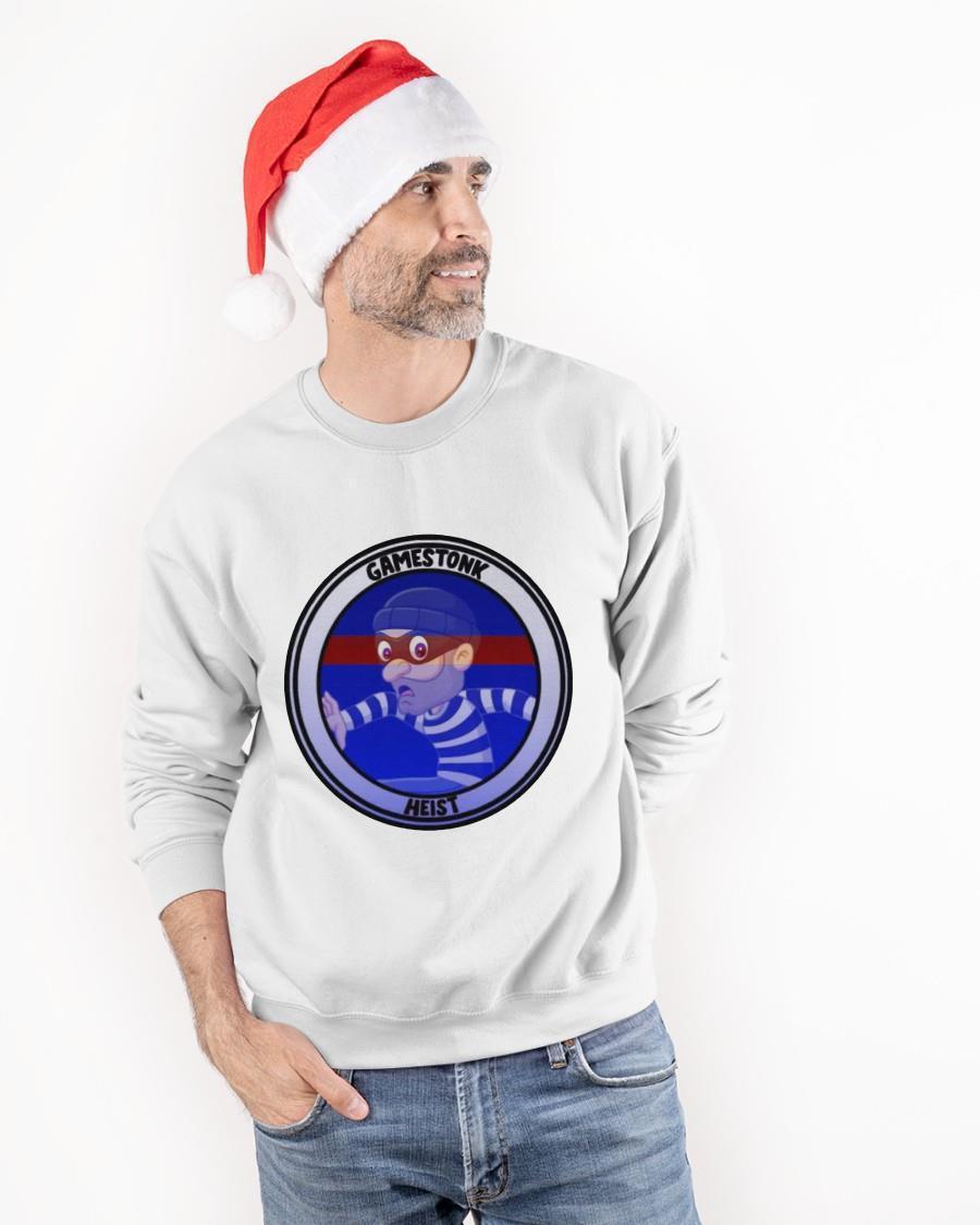 Wallstreetbets Gme Gamestonk Heist Sweater