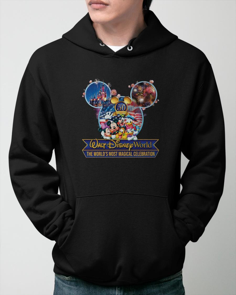 Walt Disney World The World's Most Magical Celebration Hoodie