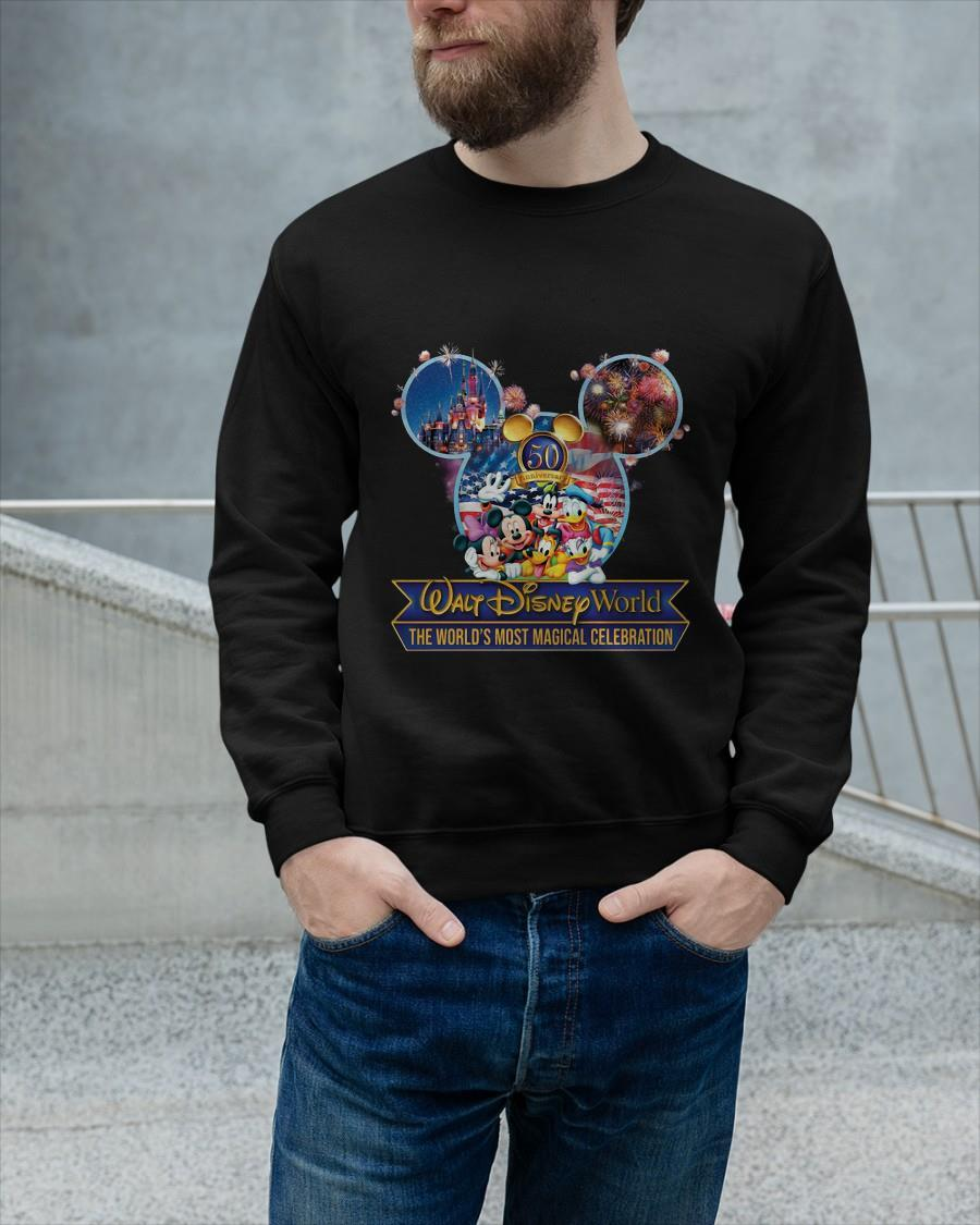 Walt Disney World The World's Most Magical Celebration Sweater