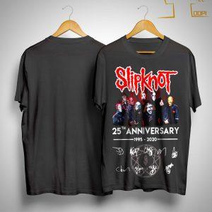 25th Anniversary 1995 2020 Signature Slipknot T Shirt