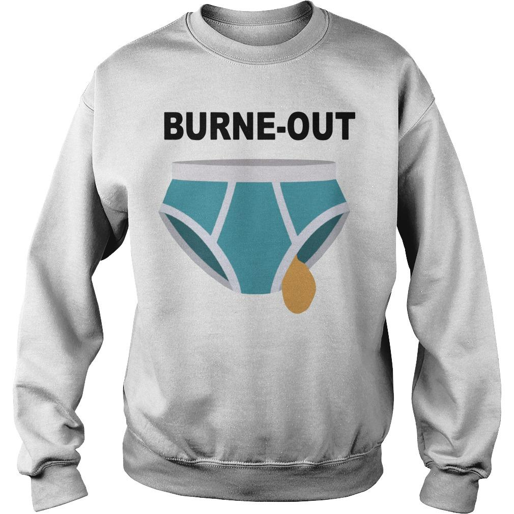 Burne Out Sweater