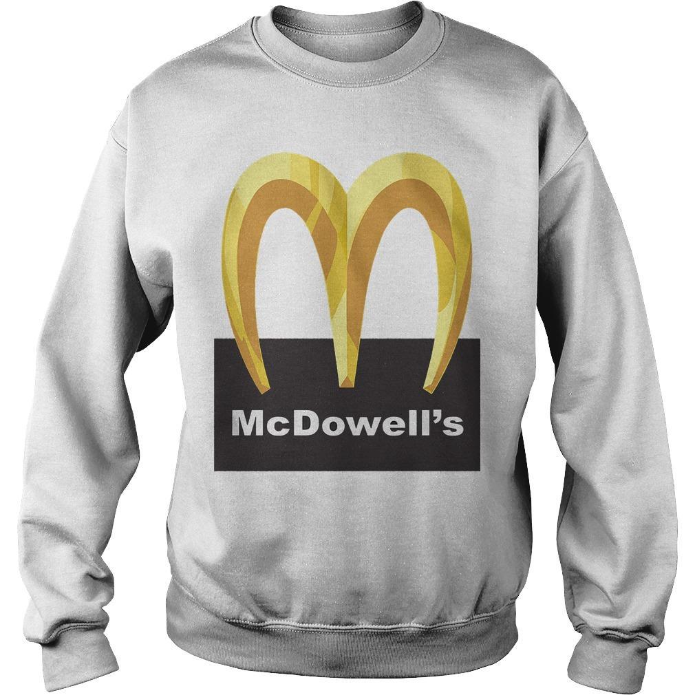 McDowell's Logo Sweater