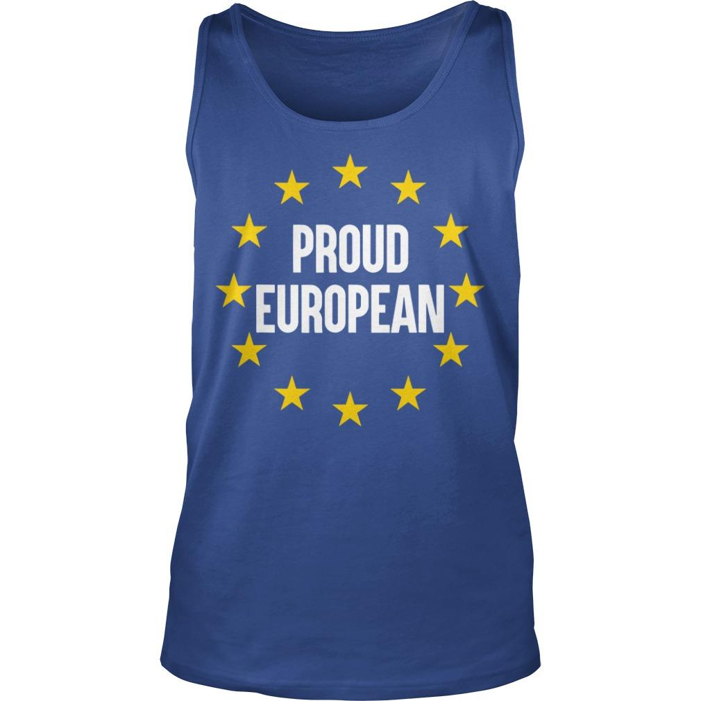 Proud European Tank Top