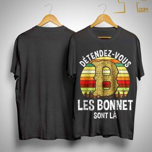 Vintage Détendez Vous Les Bonnet Sont Là Shirt
