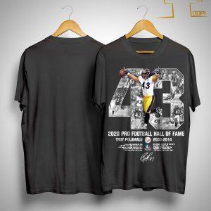 2020 Pro Football Hall Of Fame Troy Polamalu Shirt