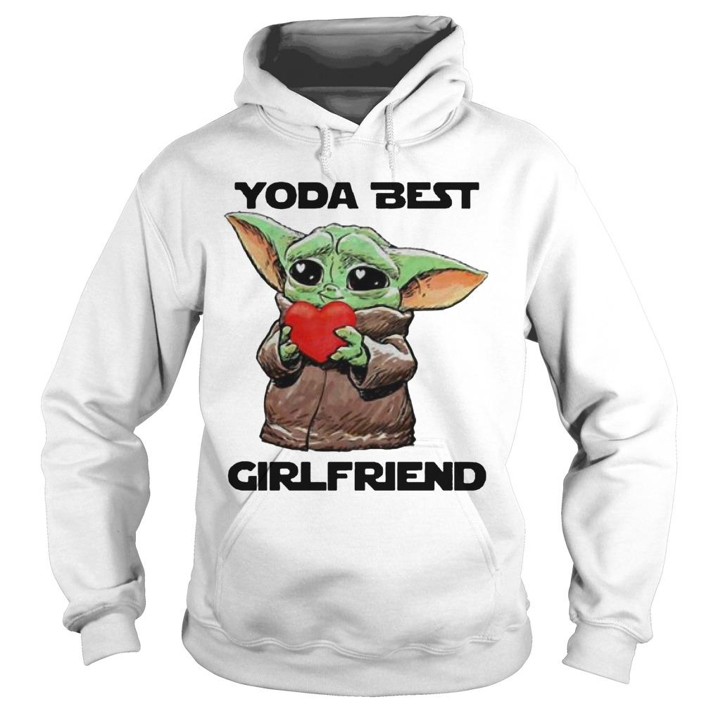Baby Yoda Best Girlfriend Hoodie