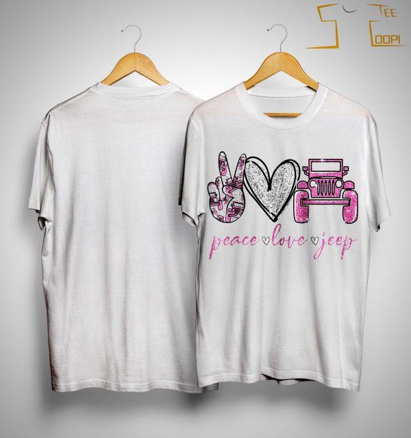 Peace Love Jeep Shirt