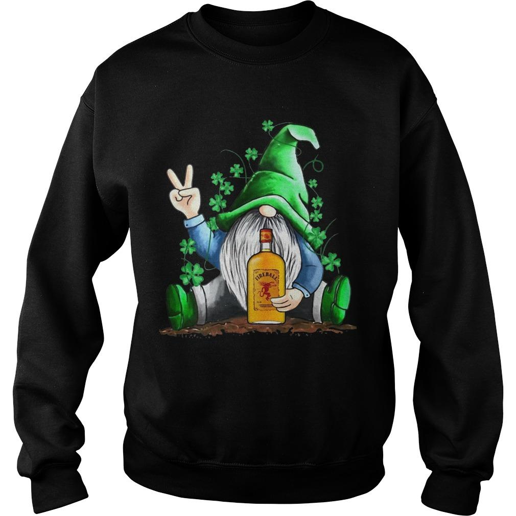 St Patrick's Day Irish Gnome Fireball Sweater