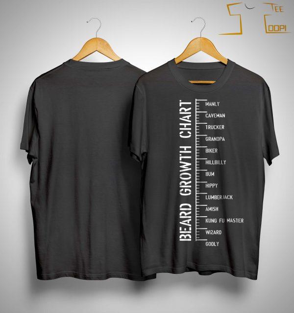 Beard Growth Chart Shirt
