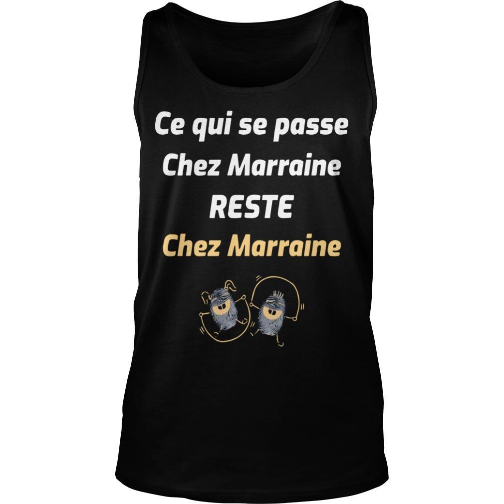 Ce Qui Se Passe Chez Marrain Reste Chez Marraine Tank Top