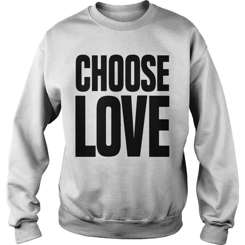 Funeral Caroline Flack Choose Love T Sweater