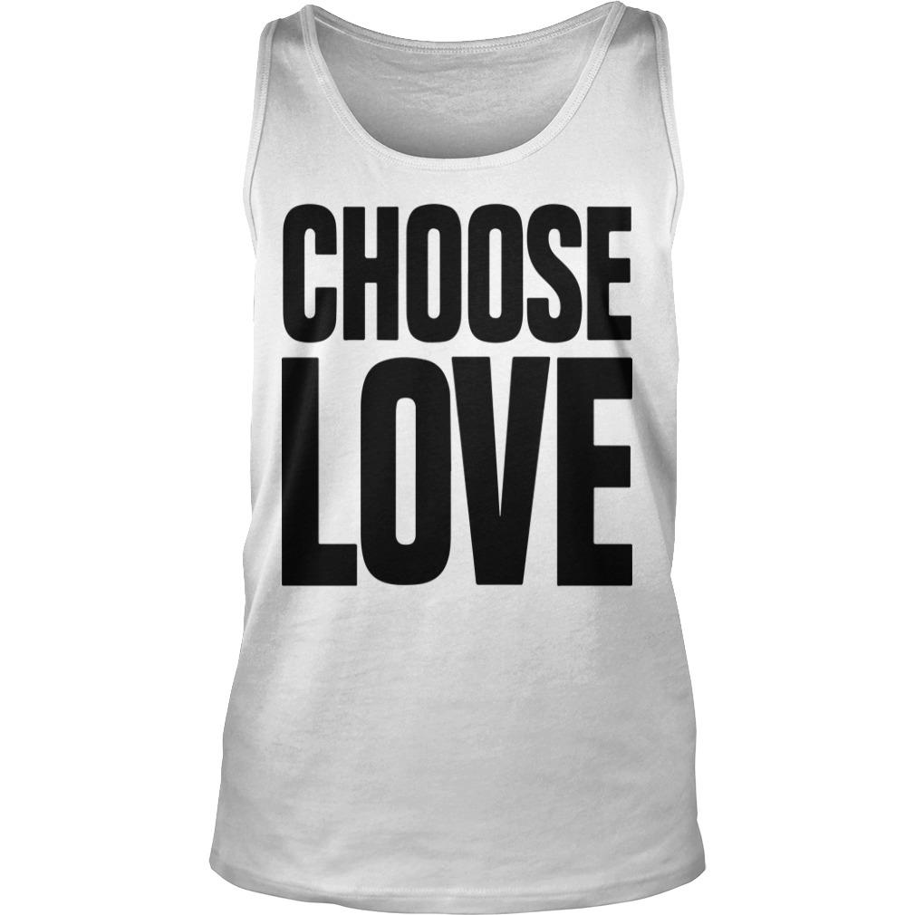 Funeral Caroline Flack Choose Love T Tank Top