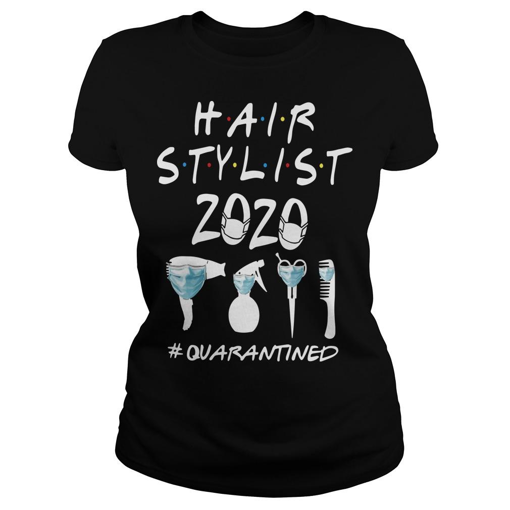 Hair Stylist 2020 #quarantined Longsleeve