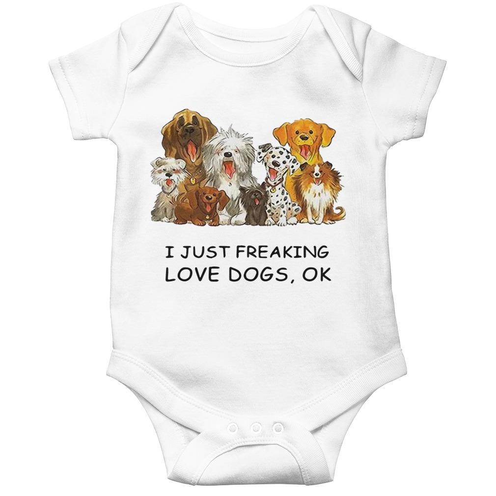 I Just Freaking Love Dogs Ok Longsleeve